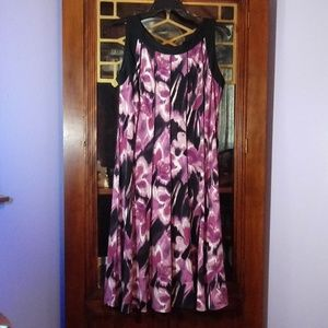PERCEPTIONS NEW YORK PLEATED DRESS